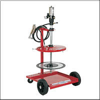 Flexbimec 4980С - Передвижной комплект для пневматической раздачи смазок подходит для бочек 50/60 кг