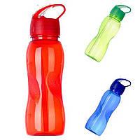 Бутылка для напитков пластик / силикон 750мл R17226