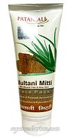 Маска для лица с лечебной глиной 60 г Multani Mitti Face Pack Patanjali