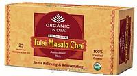 Органик чай со смесью специй Organic India Tulsi Chai Masala 25 пакет