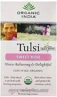 Органик чай с розой Organic India Tulsi Rose 18 пакет
