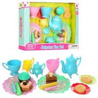 Посуда 901A-3  чайный сервиз, сладости, столовые приборы, в кор-ке, 35,5-25-5см