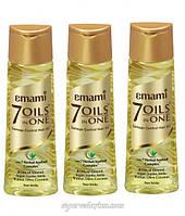 Масло для поврежденных волос 7 масел, Эмами, 7 oils in one Emami Limited 200 мл