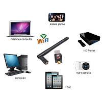 Бездротовий USB Wi-Fi адаптер 802.11 N 150mbps (підходить до тюнера T2)