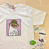 RipNDip Lord Nermal футболка белая. Живые фото, кот с факом