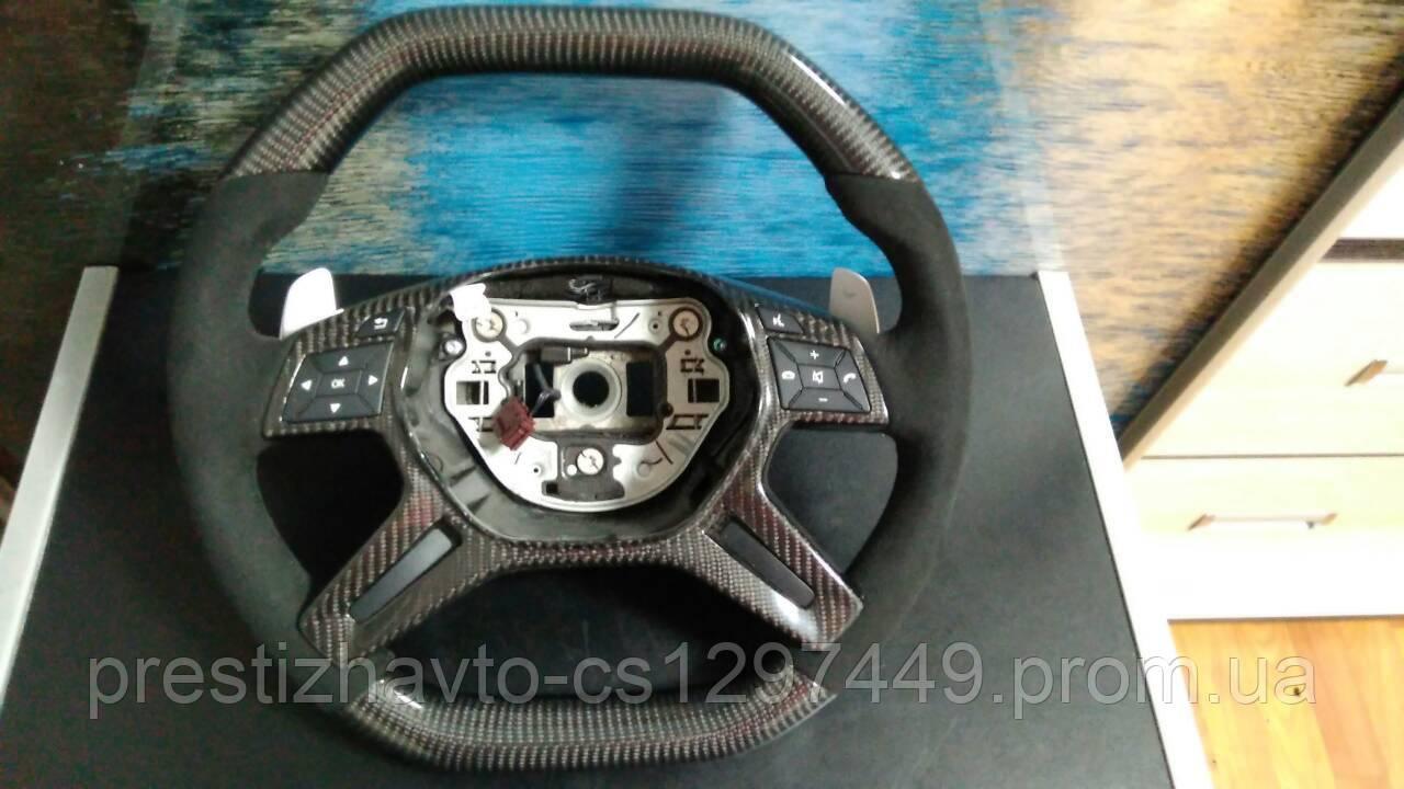 Руль AMG на Mercedes W463, ML166, Gl166 (карбон+алькантара)