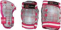 Защита Explore Cooper (колени,локти) розовый S