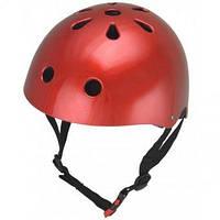 Шлем Kiddi Moto Красный Металик
