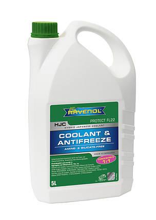 Antifreeze Ravenol -75C (зеленый) 5л, фото 2