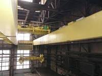 Кран мостовой двухбалочный специальный с траверсой г/п 30 т.