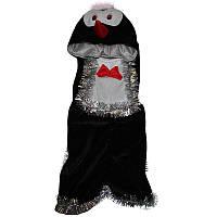 Костюм карнавальный детский 0701 Пингвин велюр, р.р. 104-140 см