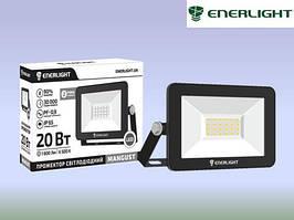 Светодиодный прожектор 20W 6500K Enerlight