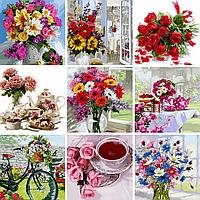 Розмальовки для дорослих з квітами — ТОП-9 картин новинок