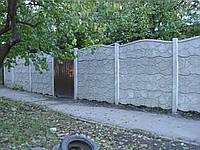 При заказе еврозабора от 20 пролетов (100 единиц) цена за плиту 115 грн за  столб 155 грн, фото 1