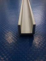 Швеллер анодированный, П-образный 8*10*8*1,5