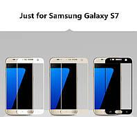 Защитное стекло с рамкой для Samsung Galaxy S7