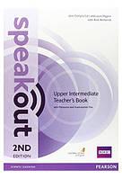 Speakout 2nd Upper-Intermediate Teacher's Book+CD-ROM (книга учителя)