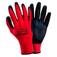 Перчатки трикотажные с нитриловым покрытием (манжет) Sigma (9443481)