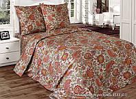 Ткань х/б  САТИН для постельного белья напечатанный ВОСТОЧНАЯ РОСКОШЬ ш.220(пл.120)