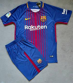 Футбольная форма  Barcelona / Барселона 2017 - 2018, Home / Домашняя , фото 2
