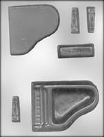 """Молд для мастики и шоколада """"Рояль 3D"""" (код 03129)"""