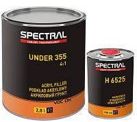Грунт акриловый SPECTRAL UNDER 355 FLEX 4+1 (2,8л) + отвердитель (0,7 л), Серый
