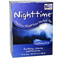 Травяной чай на ночь, Nighttime Tea Now Foods, 24 bags