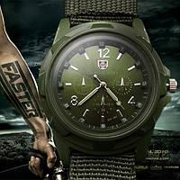 Армейские часы Gemius Army с зеленым циферблатом