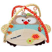 Коврик гимнастический Сова 2, в сумке 80*60см, ТМ Baby Mix(Q/3328С-3875)