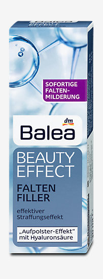 Balea Beauty Effect Faltenfiller - Антивозрастной заполнитель морщин для кожи лица 30 мл