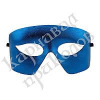 Венецианская маска Мистер Х (синяя)