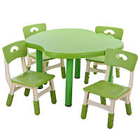 Детский столик со стульчиками Metr+ B0103-5