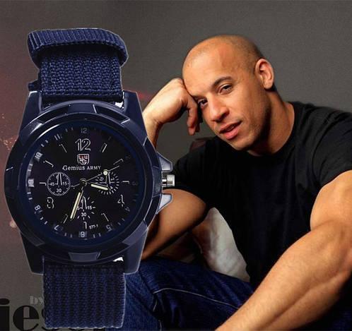 Армейские часы Gemius Army с синим циферблатом