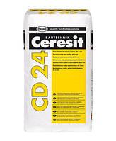 Шпаклевка CERESIT CD 24 полимерцементная, 25 кг