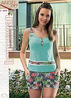 Пижама женская майка и шорты от Аngel Турция