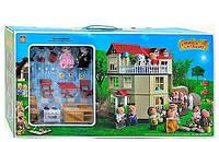 Загородный домик для Зайчиков Happy Family (аналог Sylvanian Families) 012-10