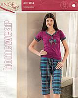 Пижама женская футболка и бриджи от Аngel Турция