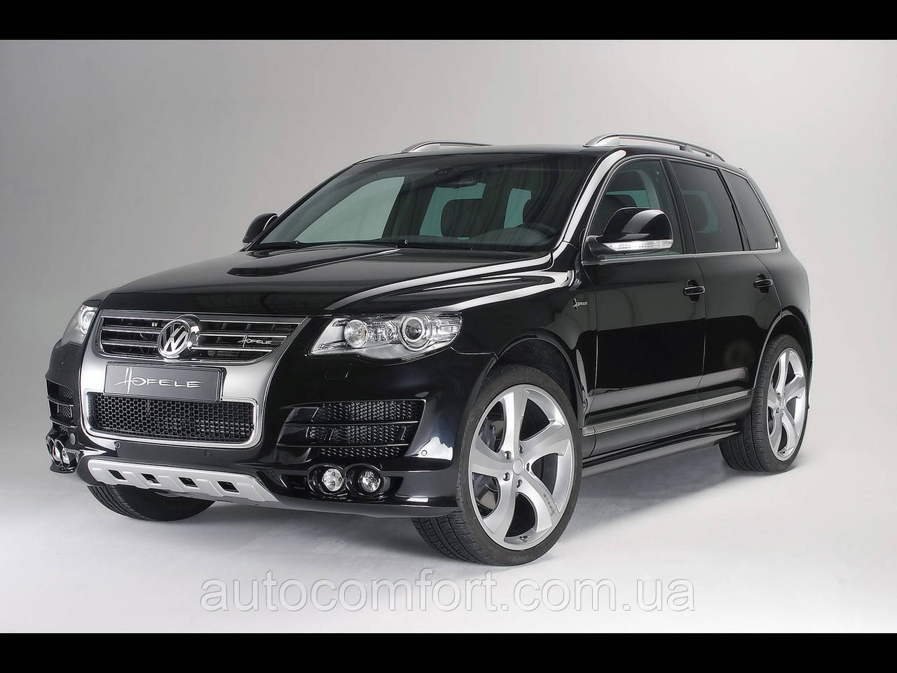 Лобовое VW Touareg (2002-2009)