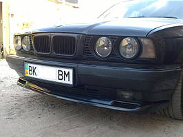 Накладка (губа) (элерон) на передний бампер М-тех BMW 5 series E34