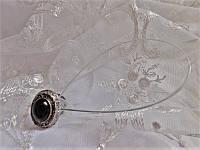 Магнит-подхват для штор ручной работы М2 черный