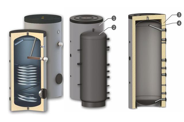 Буферные ёмкости и водонагреватели SUNSYSTEM