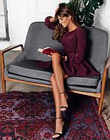 Платье микродайвинг стиль осени, фото 1