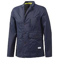 Блейзер спортивный мужской adidas Tech Blazer F50155 (синий, летний, на пуговицы, casual, логотип адидас) M