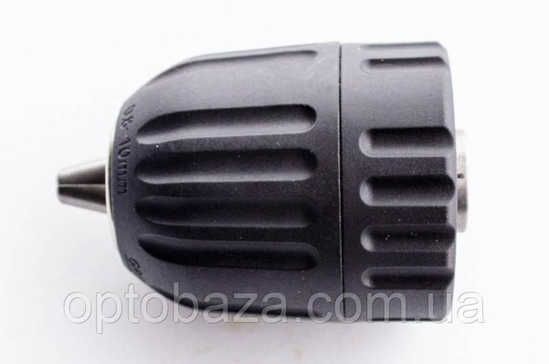 Патрон для дрилі самозажимних 3/8-24UNF 0.8-10 мм.