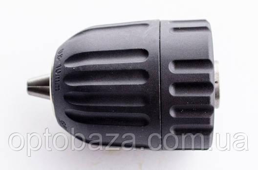 Патрон для дрилі самозажимних 3/8-24UNF 0.8-10 мм., фото 2