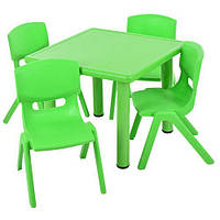 Детский столик со стульчиками Metr+ B0203-5