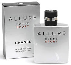 Chanel Allure Homme Sport туалетная вода 100 ml. (Шанель Аллюр Хом Спорт), фото 3