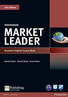 Учебник по деловому английскому Market Leader (3rd Edition) Intermediate Course Book + DVD-ROM