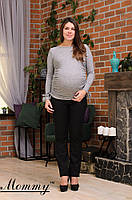 Лонгслив для беременных из мягкой стрейч-вискозы Mommy S-L разных цветов