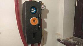 Монтаж гелиоколлектора для горячего водоснабжения коттеджа 200 литров с использованием 30-ти трубочного вакуумного коллектора 6